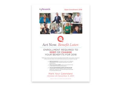 Open Enrollment Announcement Poster