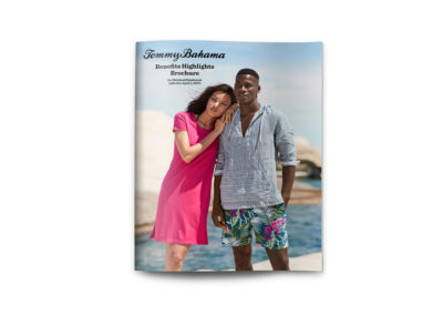 Tommy Bahama Benefits Highlights Guide, cover