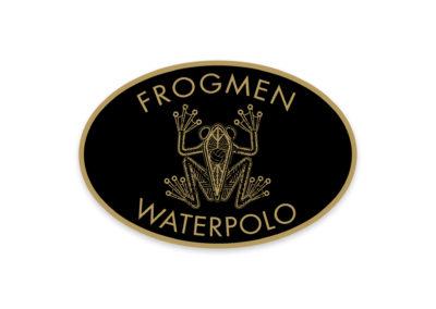 Frogmen Waterpolo Logo