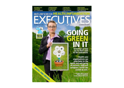 Cover: Advance for Health Information Executives