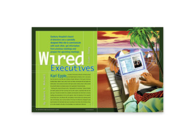 Cover Spread: Advance for Health Information Executives